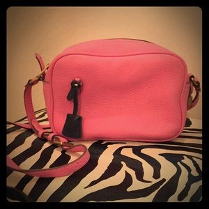 J Crew Pink Crossbody Bag